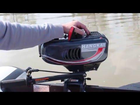 мотор для лодки пвх ханкай 3.5 видео