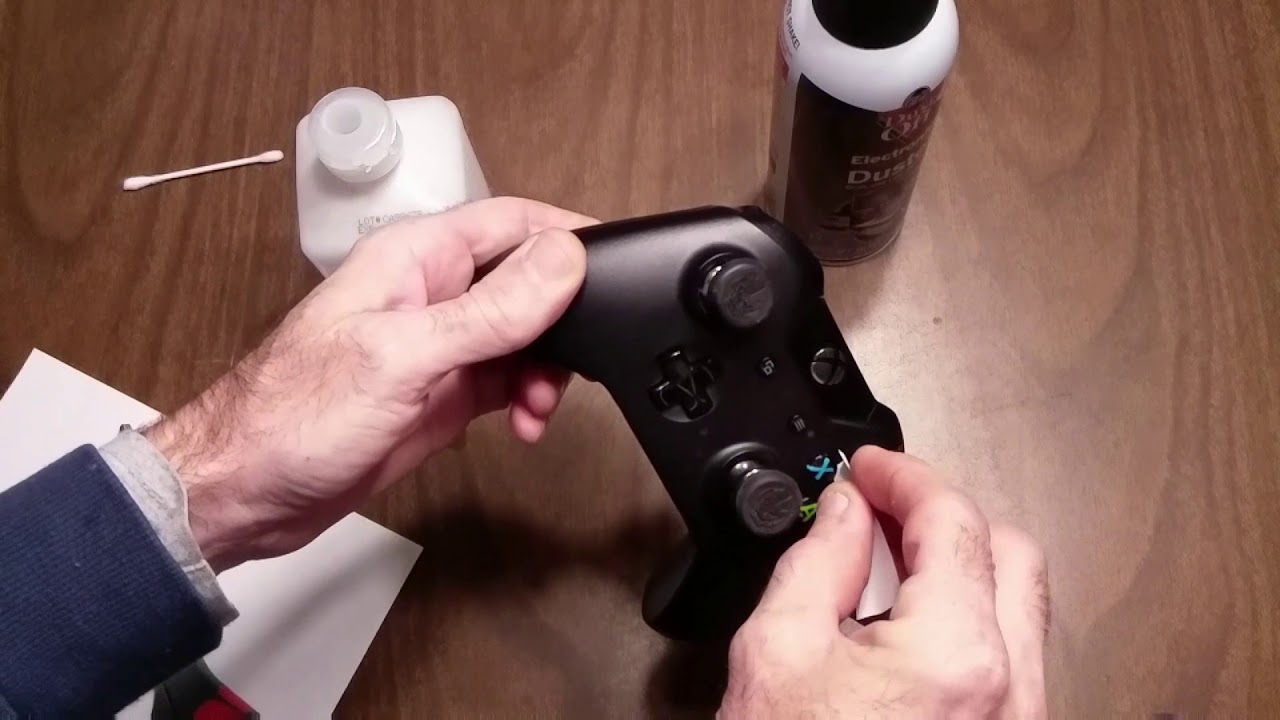 XBox One Controller fix sticky button NO DISASSEMBLY REQUIRED