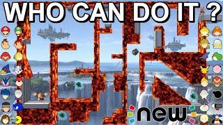 Who Can Make It? New Lava Maze - Super Smash Bros. Ultimate