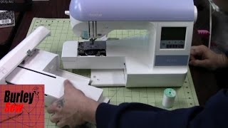 Brother PE-770 Set Up including Threading/ Right from the box to Embroidery How To Use Tutorial