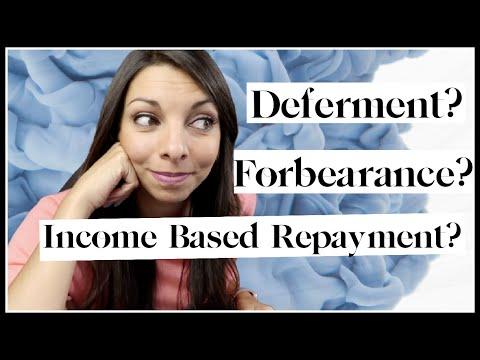 Deferring Student Loans