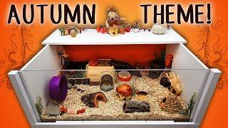 Sumatra's AUTUMN Hamster Cage Theme! - 2014 Thumbnail