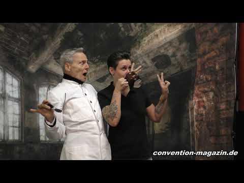 Dieter Laser, Human Centipede, auf dem House of Horrors, Oberhausen 2019