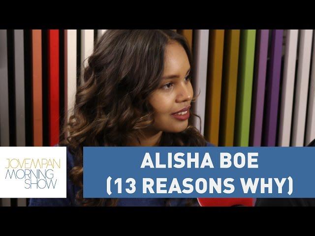 """Alisha Boe: """"Não são as meninas que precisam se cuidar, os meninos que devem ter responsabilidade"""""""