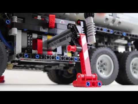 LEGO 42043 Technic Mercedes-Benz Arocs LEPIN 20005 Review