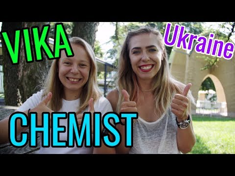 Vika the FEMALE CHEMIST from Ukraine // Women in STEM Fields