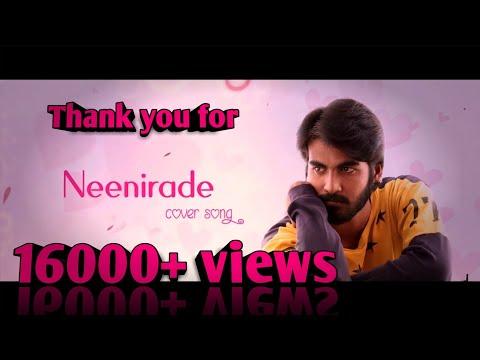 Googly Movie | Neenirade Cover Song | Amruth R Sagar | Chandu Jc | Avinash BM