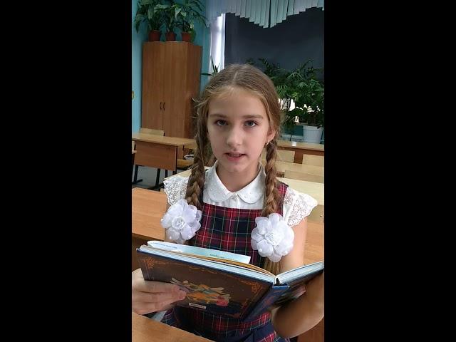 Изображение предпросмотра прочтения – СофьяГубанова читает произведение «Человек, каких много» И.С.Тургенева