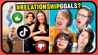 YouTube Couples React To 10 VIRAL #RelationshipGoals Video Compilation