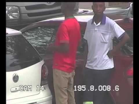 Car park thieves