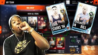 MAKING 2 97 OVR UPGRADES!!! ROAD TO THE TOP NBA LIVE MOBILE 18 S2 EP. 13!!!
