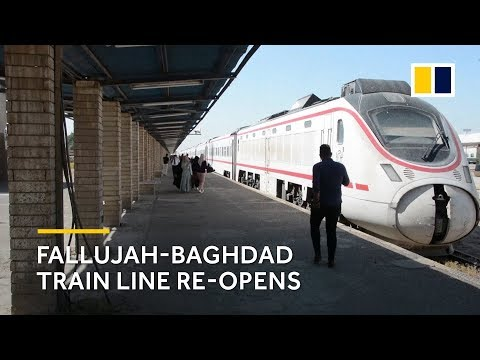 Fallujah-Baghdad train line re-opens