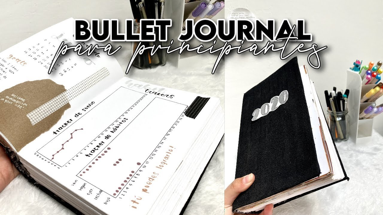 Bullet Journal: ¿QUÉ ES? ¿CÓMO EMPEZAR? ¿QUÉ DEBE LLEVAR? 🤍 guía para principiantes ✨