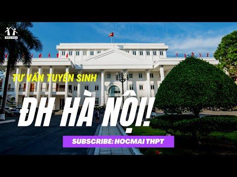 Tuyển sinh 2021: Trường Đại học Hà Nội Tư vấn tuyển sinh 2021 - HOCMAI