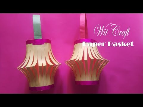 DIY BEAUTIFUL  COLOR PAPER ROOF HANGING | HOME DECORATION |