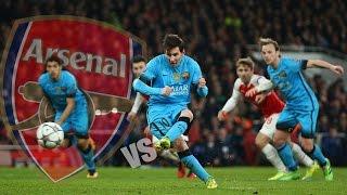 Fc barcelona vs arsenal- 2-0 ...