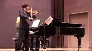 Respighi violin Sonata in B minor - III.(Passacaglia). Allegro Moderato Ma Energico