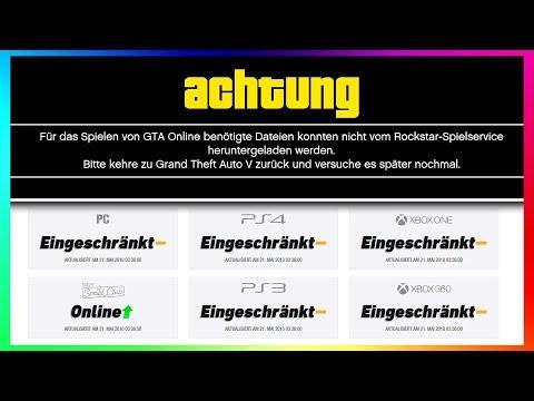 GTA 5 ONLINE IST OFFLINE!   WARUM SIND DIE SERVER DOWN?!   GTA V News