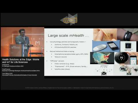 Health Solutions at the Edge: Mobile and IoT for Life Sciences | AWS Public Sector Summit 2016