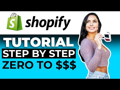 Shopify Tutorial For Beginners 2019 | How To Create A Profitable Shopify Store Step By Step thumbnail