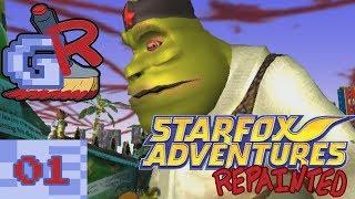 Andy || Star Fox Adventures Repainted (Part 1)