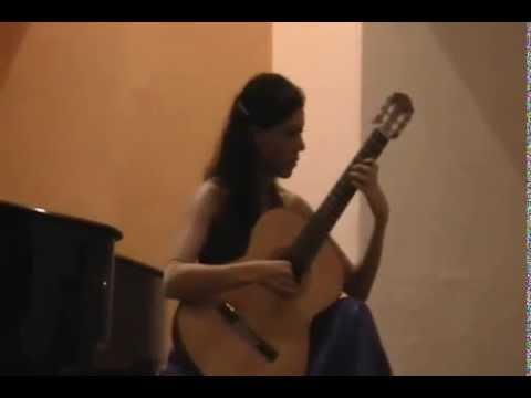 Paulina Orozco plays Air - Quatre pieces Breves pour la Guitare.  Frank Martin