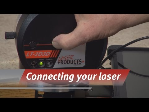 Connecting to your LT-2D3D Laser Templator