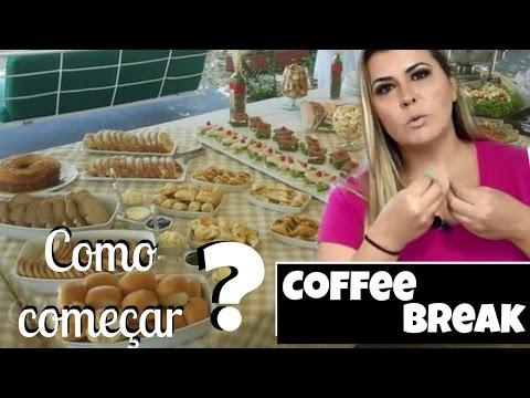Como começar a trabalhar com COFFEE BREAK? Denise Ferreira