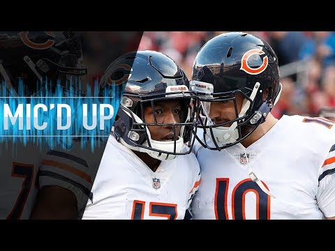 """Mitch Trubisky Mic'd Up vs. 49ers  """"We play in the moment every single play"""" 