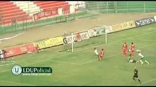 Goles y resumen Liga de Portoviejo 4  vs Técnico Universitario 1
