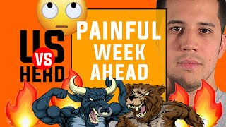 Painful Week Ahead - 2020 Stock Market Crash - Options Trading Watchlist