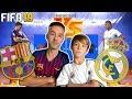 BARCELONA VS REAL MADRID EL CLASICO FIFA 19