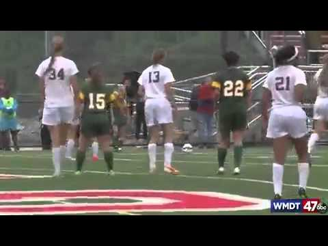 Indian River Girls Soccer vs. Caravel Academy 06-02-15