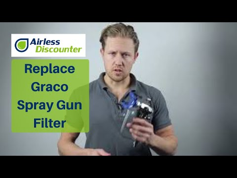 How To Replace Graco Spray Gun Filter And Introduction To The Graco Filters