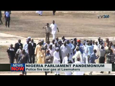 Pandemonium in National Assembly as speaker is locked out