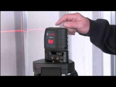 Overview of the Bosch Self-Leveling Cross-Line Laser - GLL240