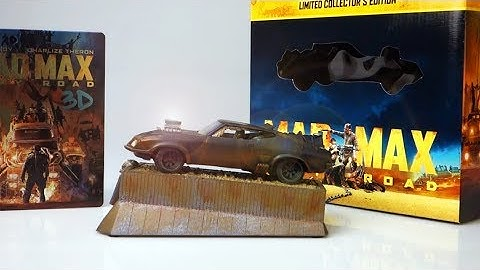 Unboxing: Mad Max: Fury Road Limited Collector's Edition (Blu-ray 3D) + Interceptor (engl. subs)