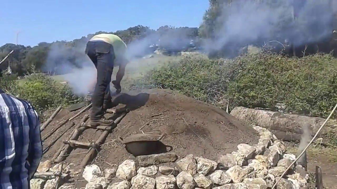 Fabricación Artesanal De Carbón Vegetal