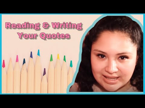 ASMR │Reading & Writing Your Quotes │Using Whiteboard & Markers 💜 - 동영상