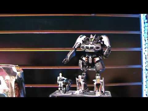 Transformers Human Alliance Jazz w\/ Captain Lennox, new packaging - Toy Fair 2010