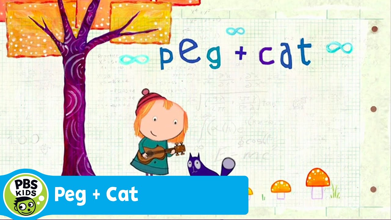 Peg Cat Theme Song Pbs Kids Youtube