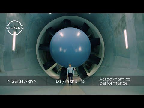 Nissan ARIYA - Day in the life: ARIYA aerodynamics