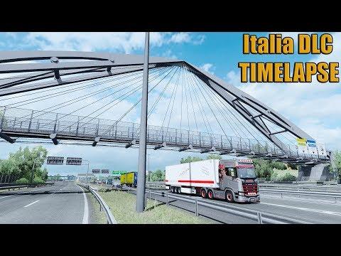 ✅ ETS2 Italia DLC - TIMELAPSE Roma - Venezia