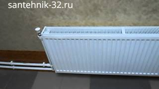 видео Радиаторы отопления Insolo с боковым подключением