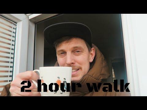 A 2 hour walk: marathon training