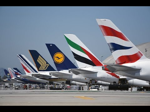 The Variety of Aircraft at Los Angeles International Airport
