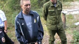 Смертельный случай на охоте Верхнекамский район. Место происшествия 01.11.2016