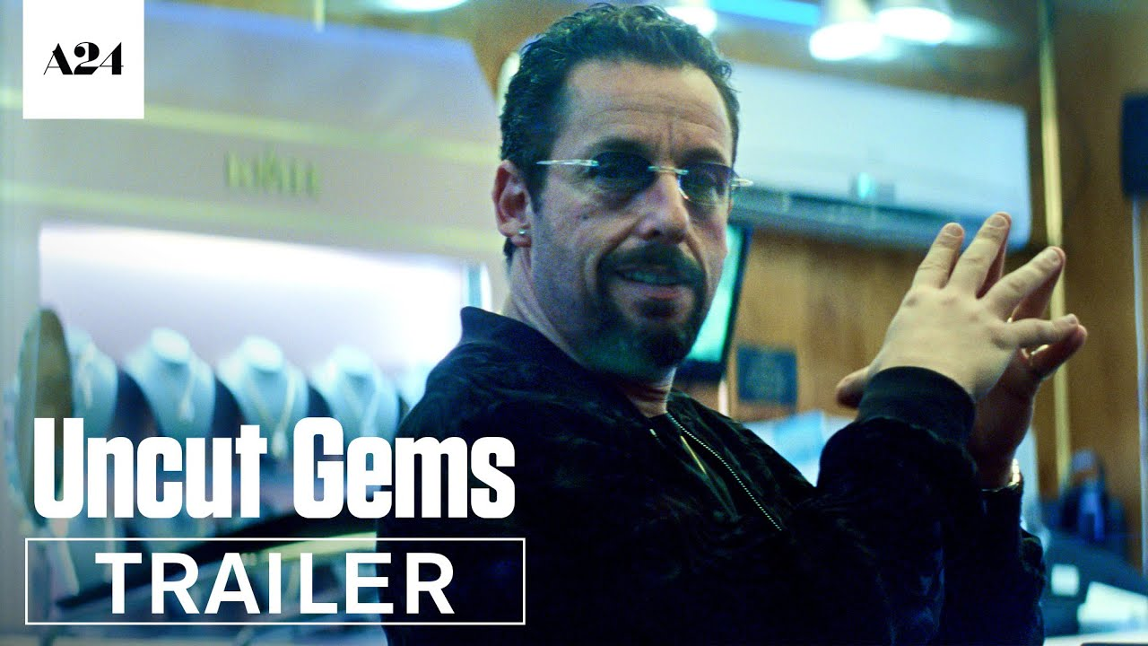 Adam Sandler in UIncut Gems trailer op Netflix België