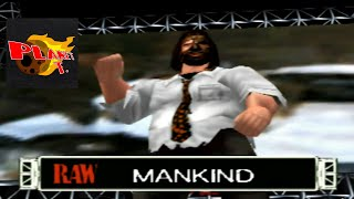 WWF Wrestlemania 2000 Mankind Entrance and Finisher