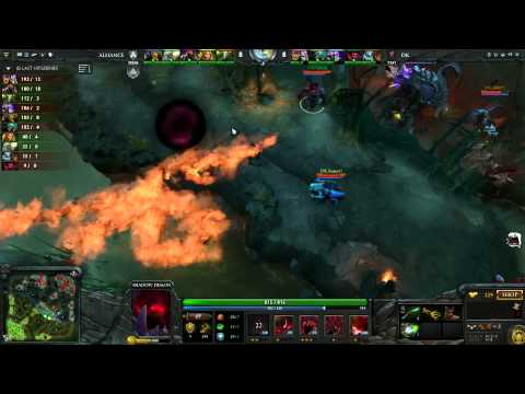 Alliance vs DK Round 2B 1 of 3   English Commentary